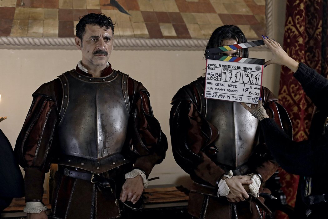 Alonso (Nacho Fresneda) y Pacino (Hugo Silva)