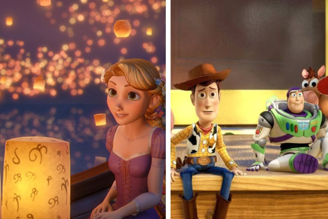 Año 2010: 'Enredados' y 'Toy Story 3'