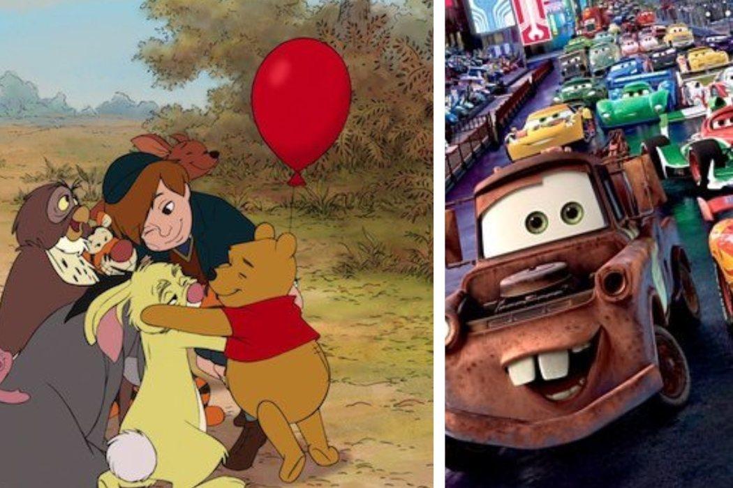 Año 2011: 'Winnie the Pooh' vs. 'Cars 2'