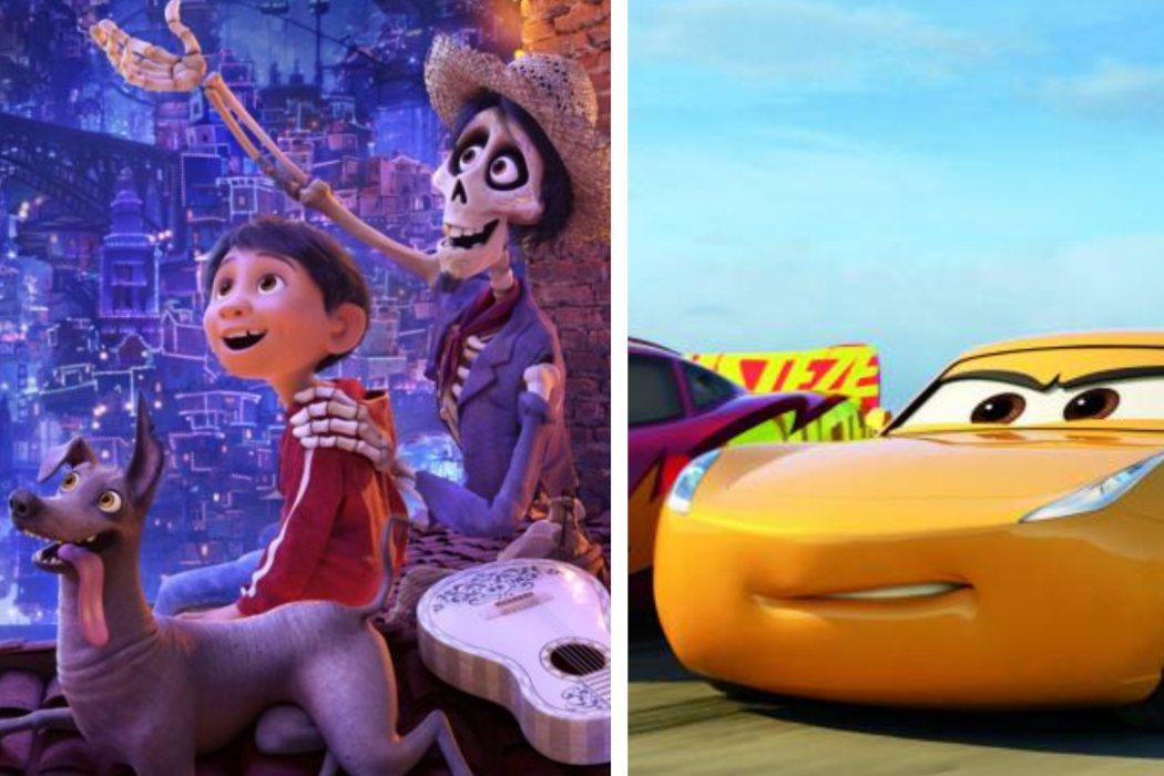 Año 2017: 'Cars 3' vs. 'Coco'