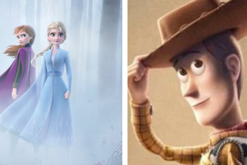 Año 2019: 'Frozen 2' vs. 'Toy Story 4'