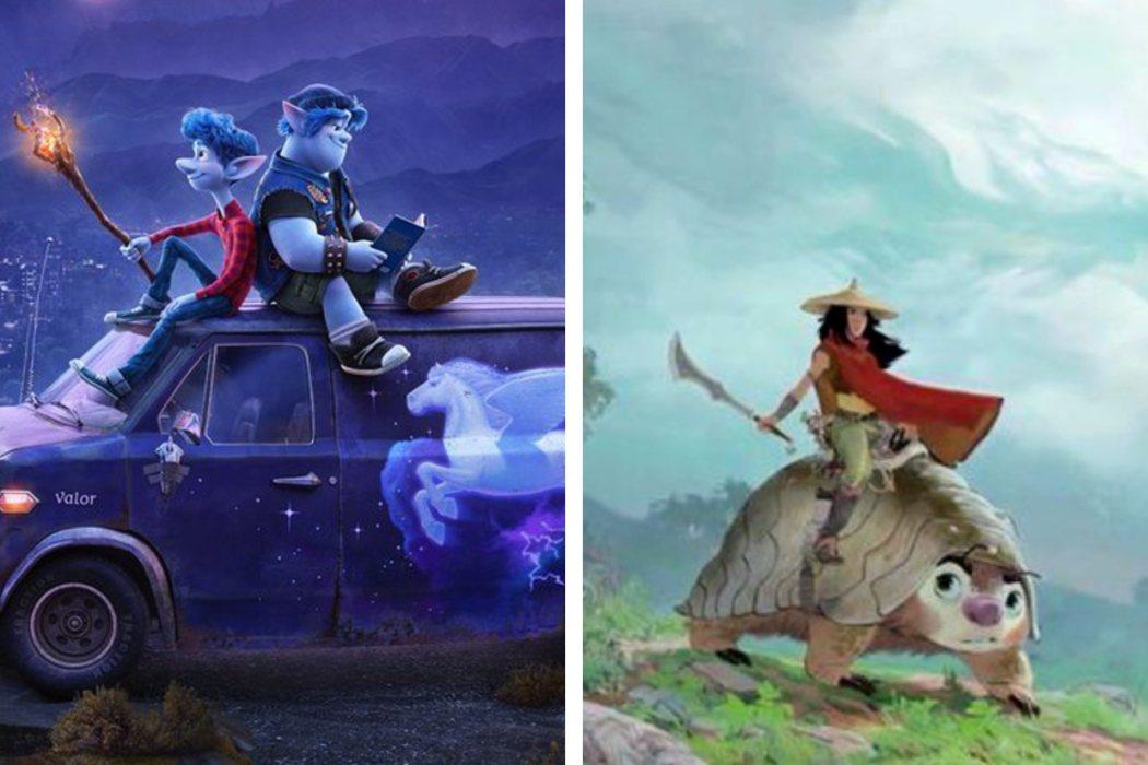 Año 2020: 'Raya and the Last Dragon' vs. 'Onward' vs. 'Soul'