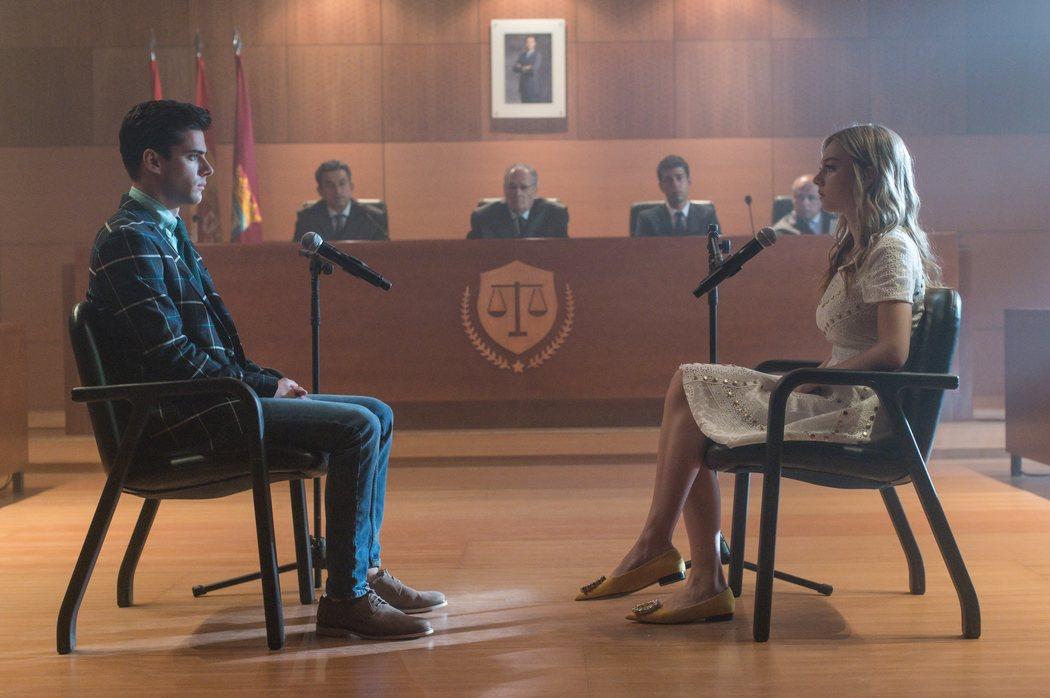 Polo y Carla en tribunales