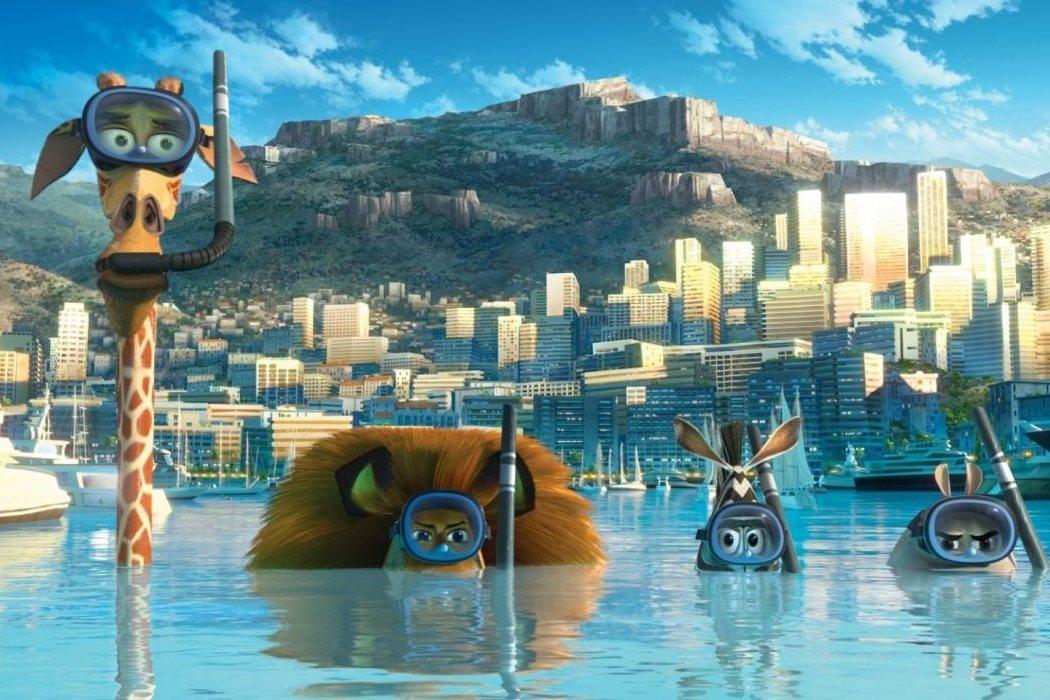 'Madagascar 3: De marcha por Europa'