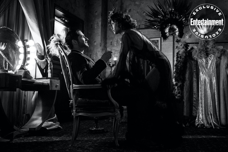 Lucifer (Tom Ellis) y Mazikeen (Lesley-Ann Brandt)