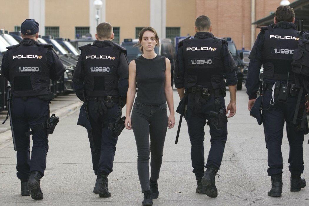 'Antidisturbios' (Miniserie, Movistar+)