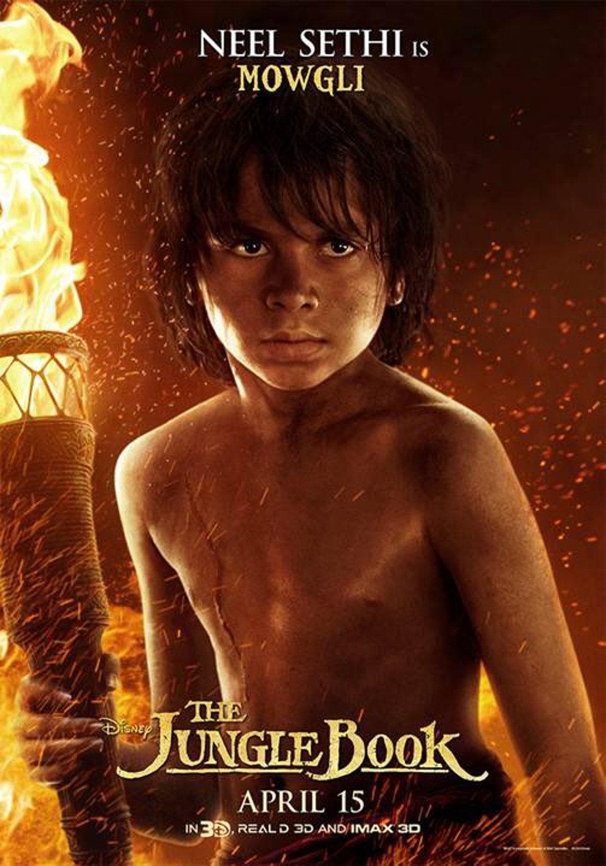Mowgli 'The Jungle Book' Poster