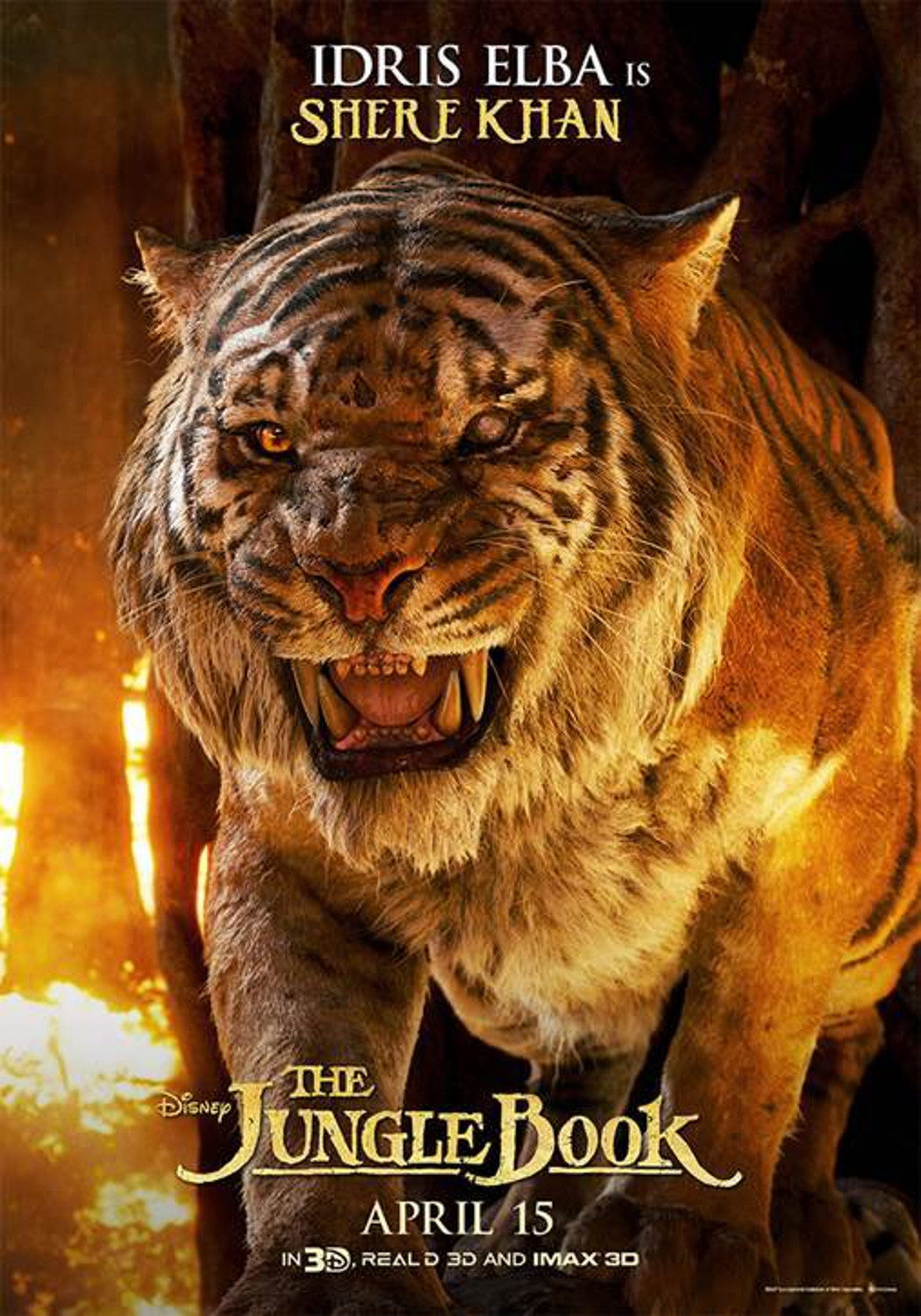 Shere Khan 'The Jungle Book' Poster