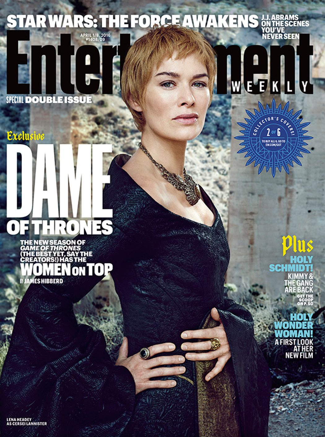 Lena Headey portada Entertainment Weekly