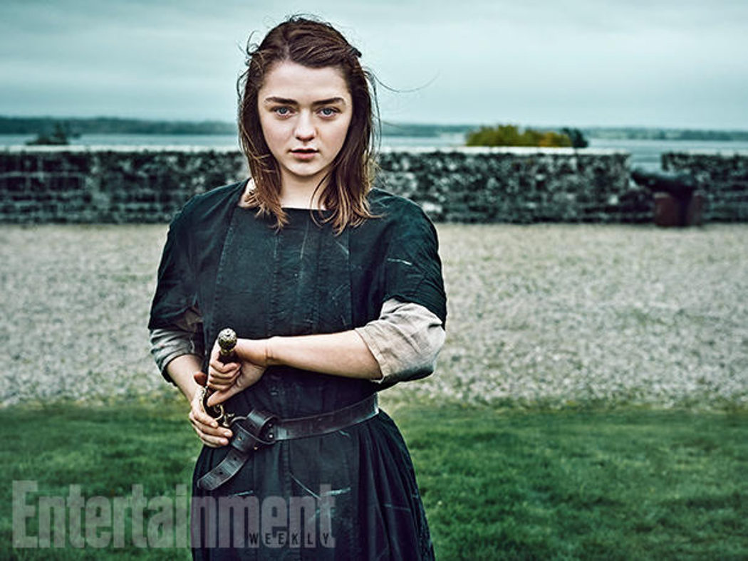 Maisie Williams posa para Entertainment Weekly