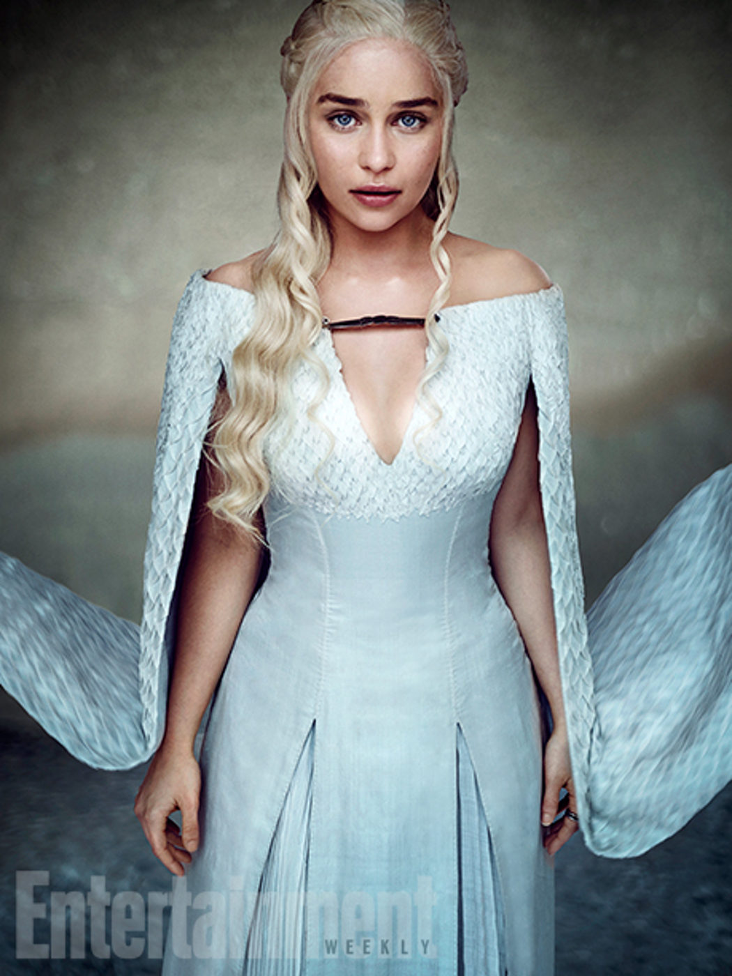 Emilia Clarke posa para Entertainment Weekly