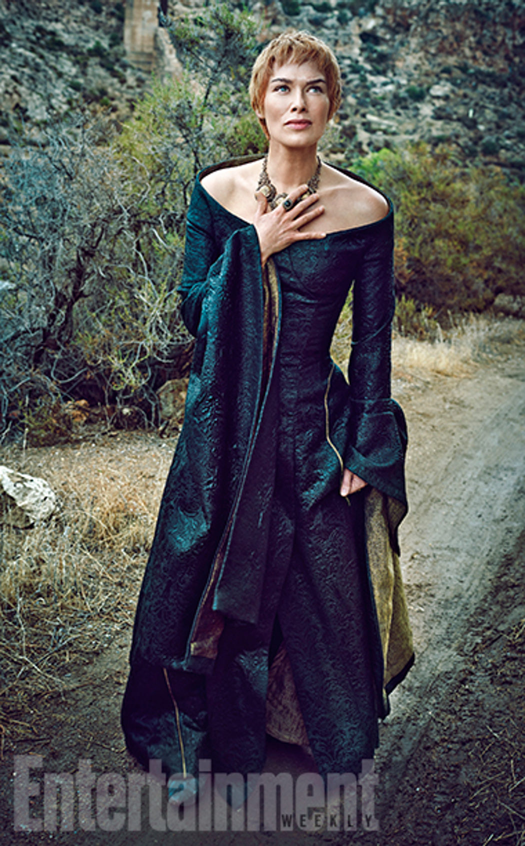 Lena Heady posa para Entertainment Weekly