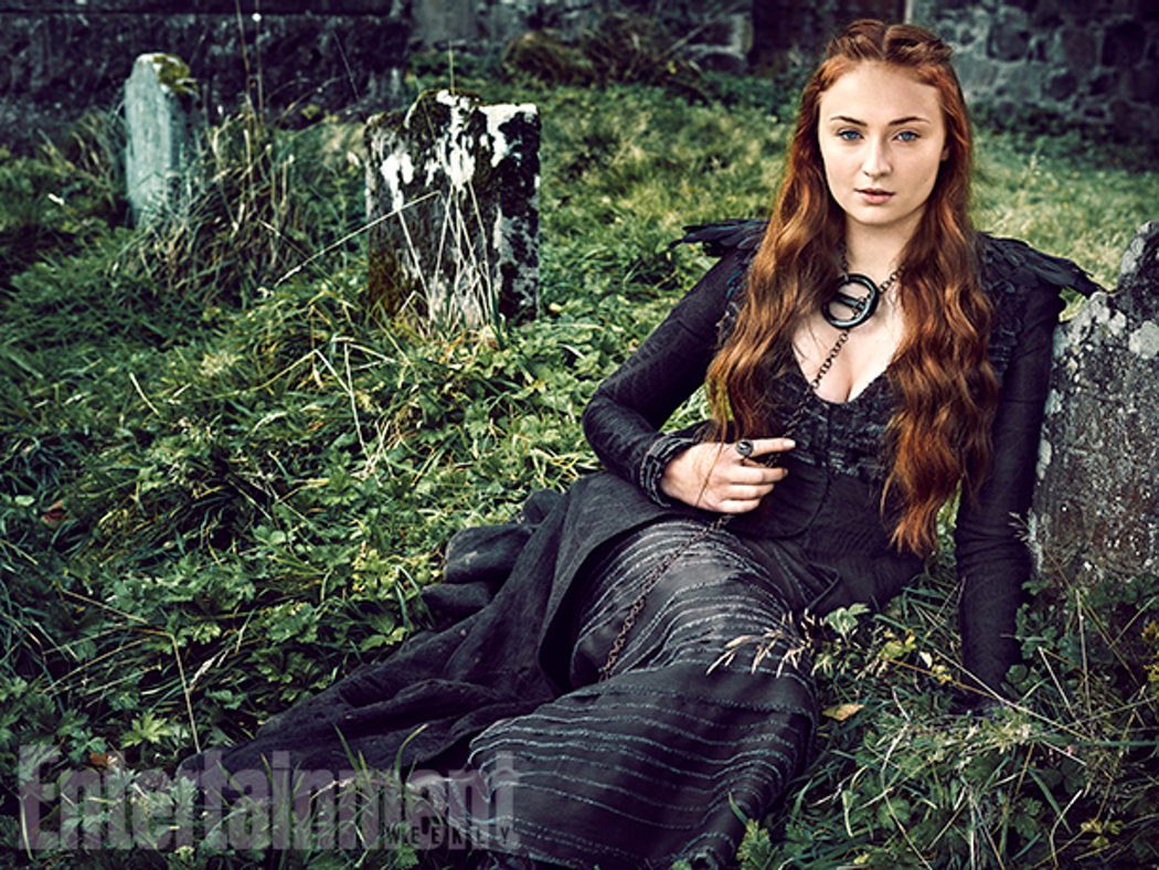 Sophie Turner posa para Entertainment Weekly