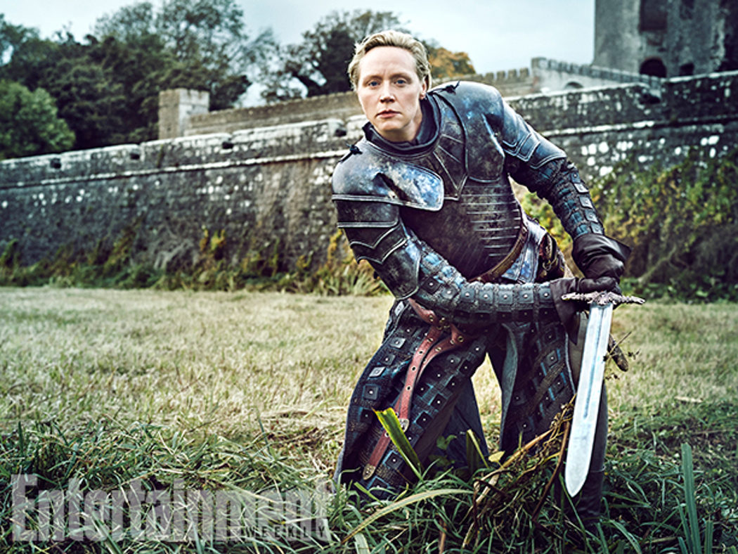 Gwendoline Christie posa para Entertainment Weekly
