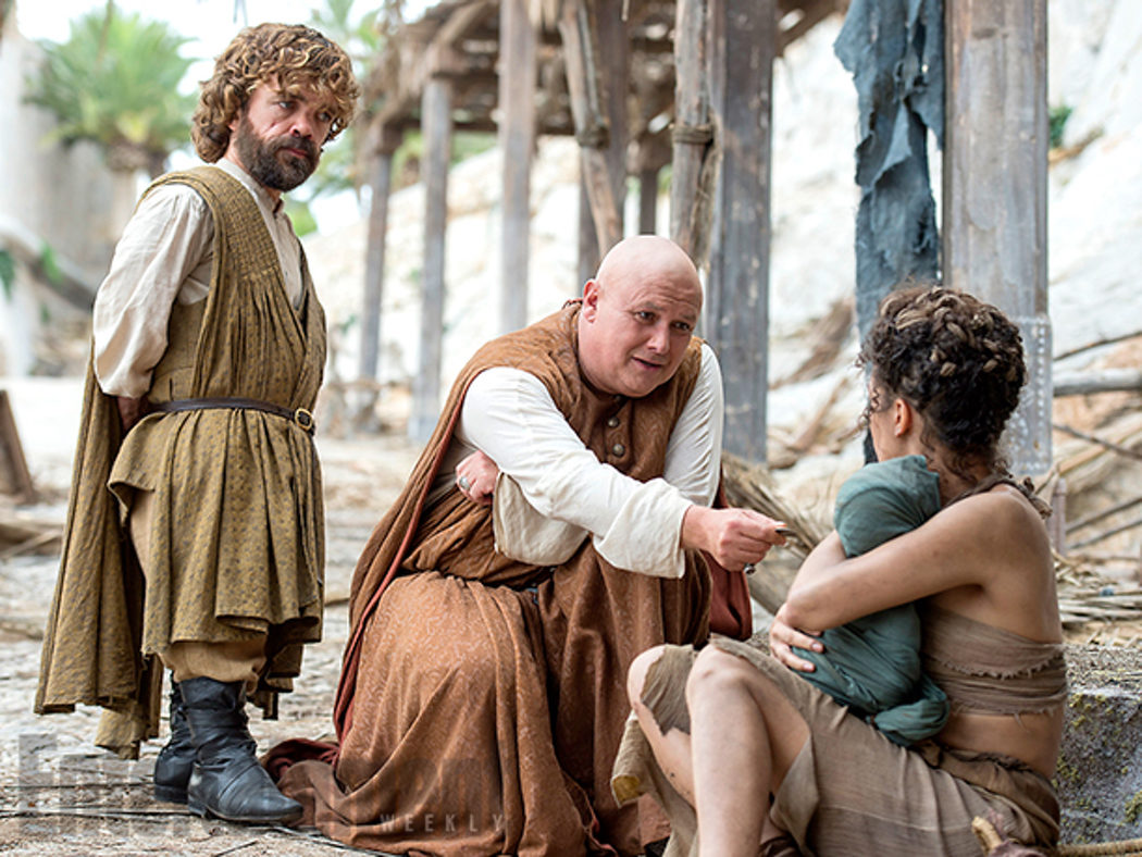 Tyrion Lannister y Varys