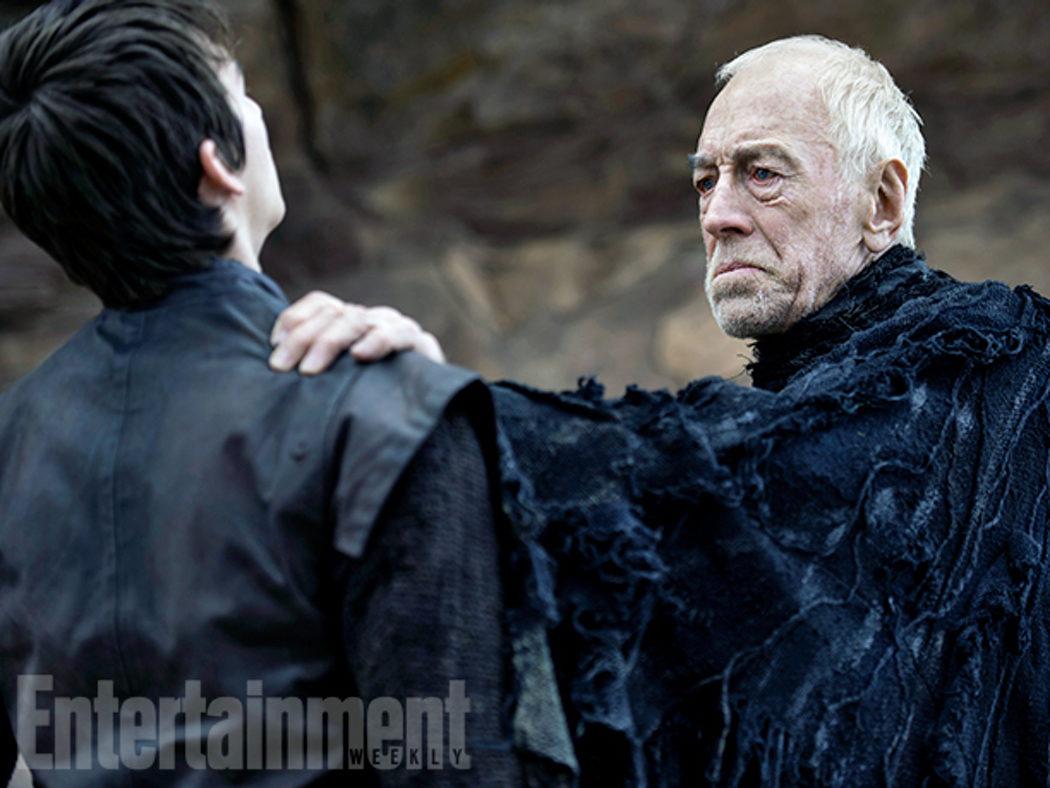 Bran Stark y el Cuervo de tres ojos