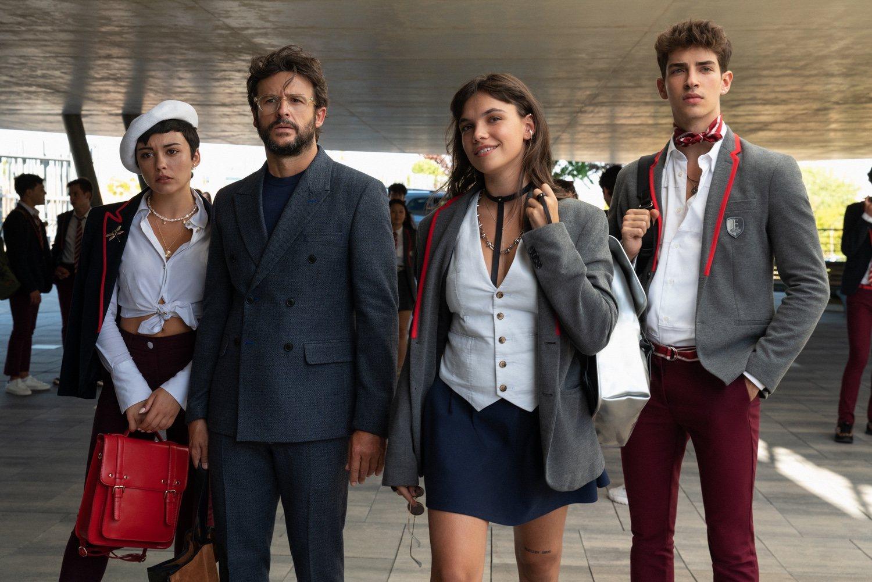 Manu Ríos, Carla Díaz, Martina Cariddi, Pol Granch y Diego Martín