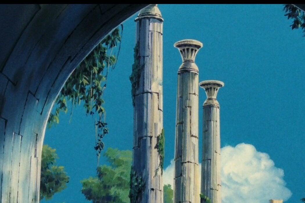 'El castillo en el cielo'