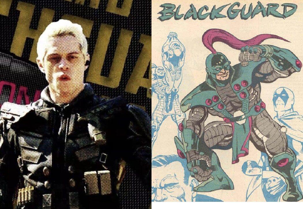 Pete Davidson es Blackguard