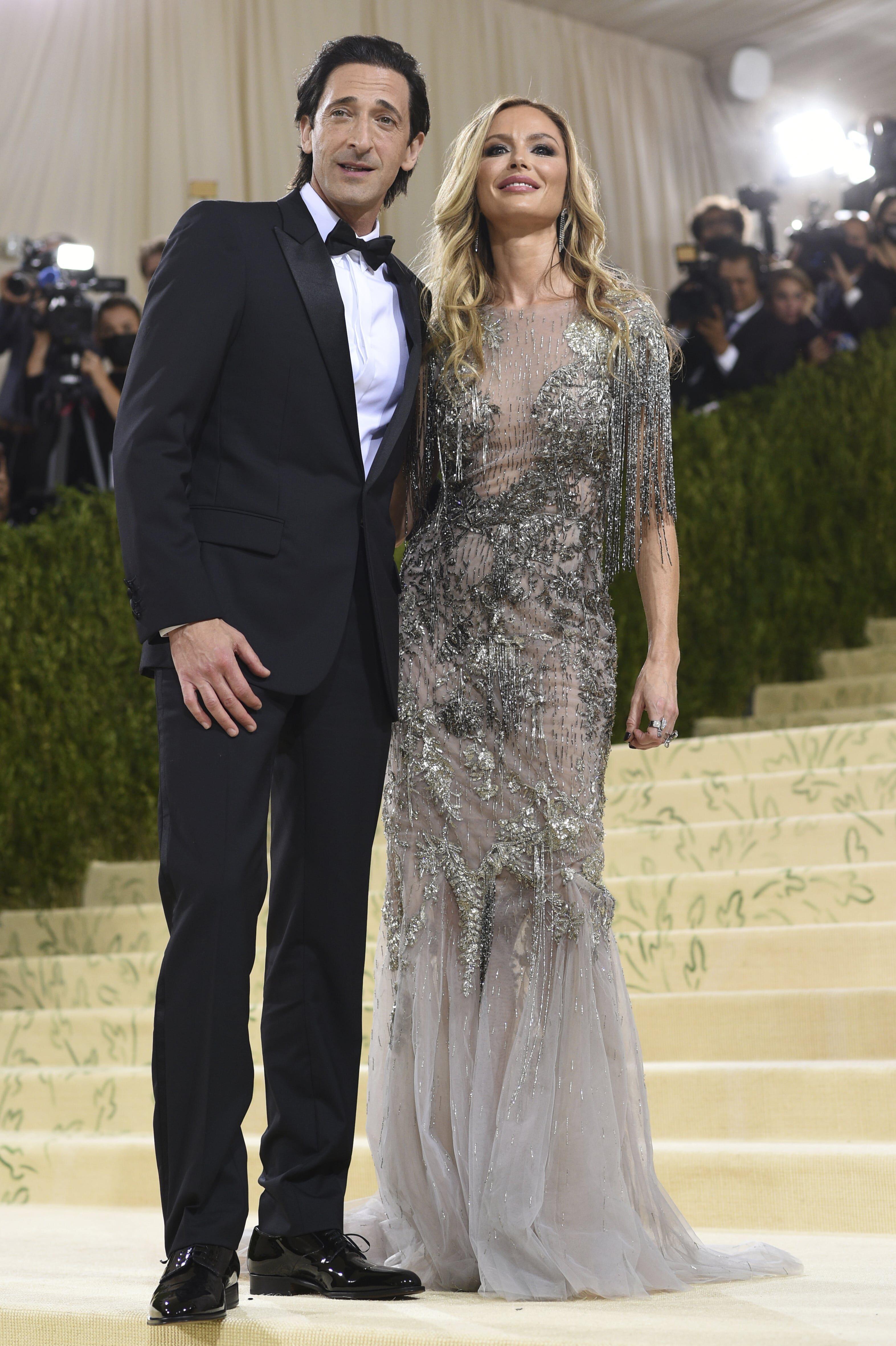 Adrien Brody y Georgina Chapman