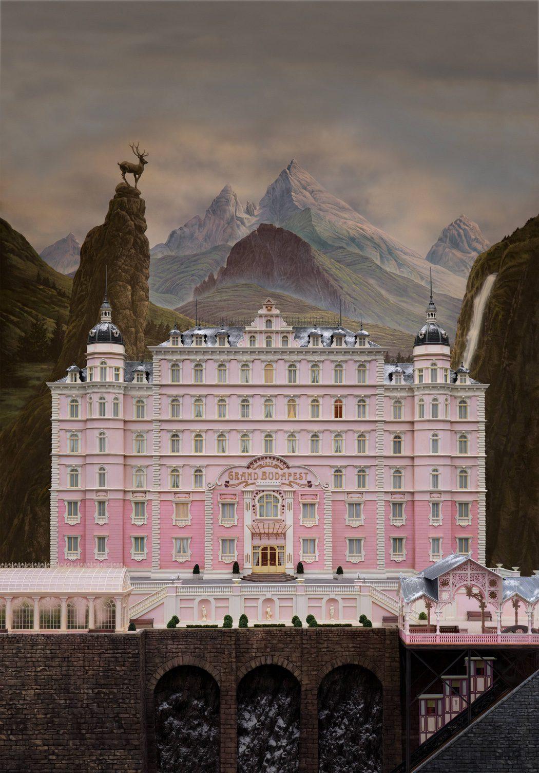 'El gran hotel Budapest'