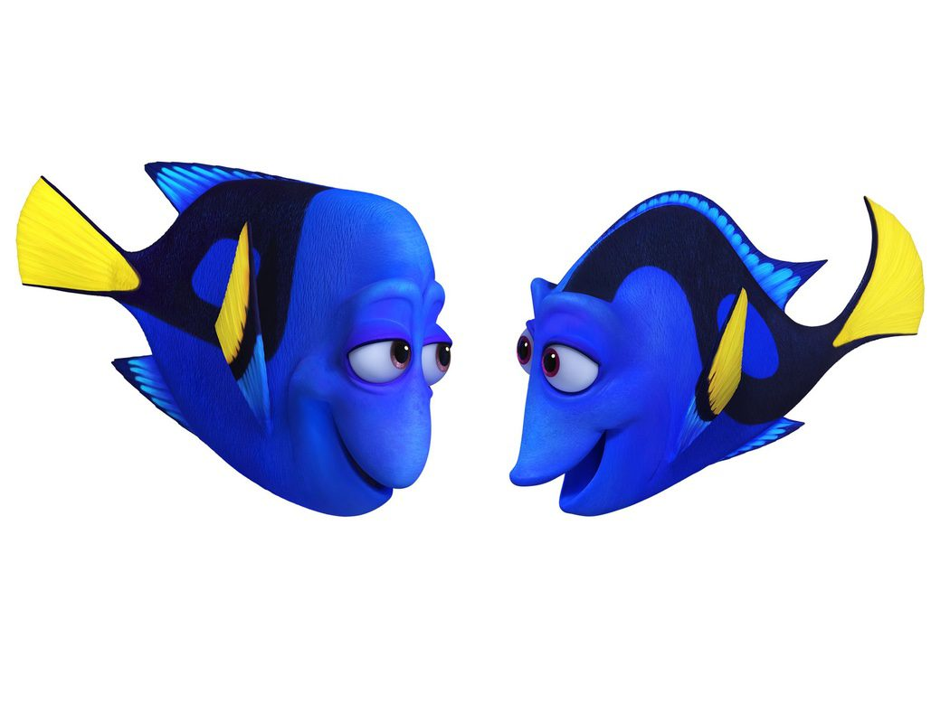 Jenny y Charlie, padres de Dory