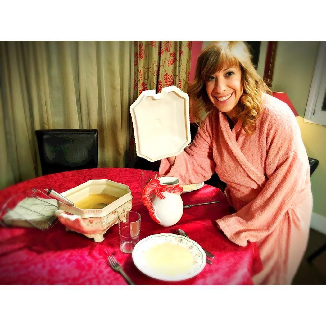 Berta preparando la cena en 'LQSA'