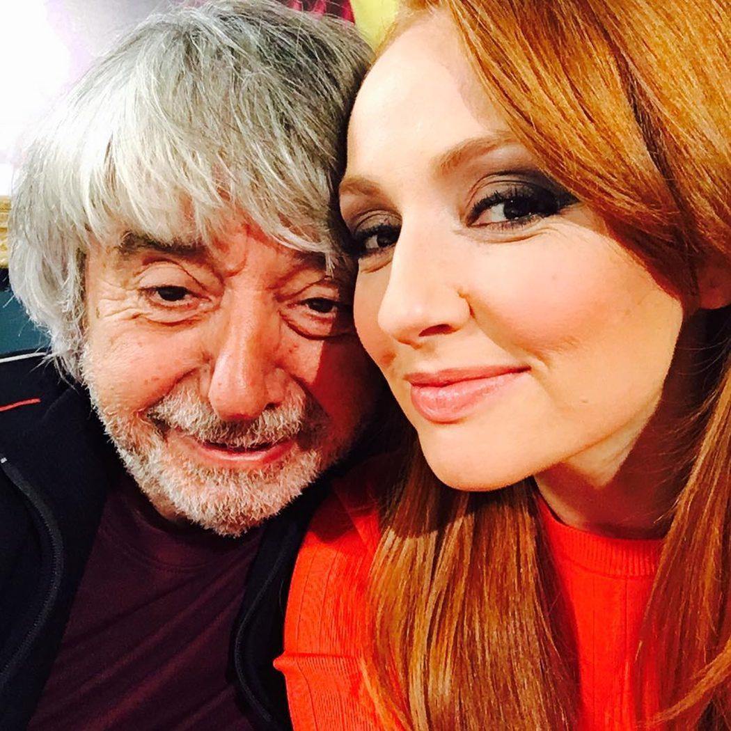 Ricardo Arroyo y Cristina Castaño en el rodaje de 'LQSA'