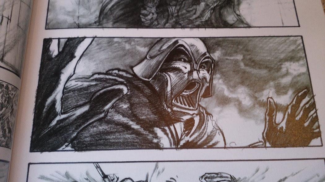 """Darth Vader el """"bulldog"""", los múltiples bocetos para el personaje"""