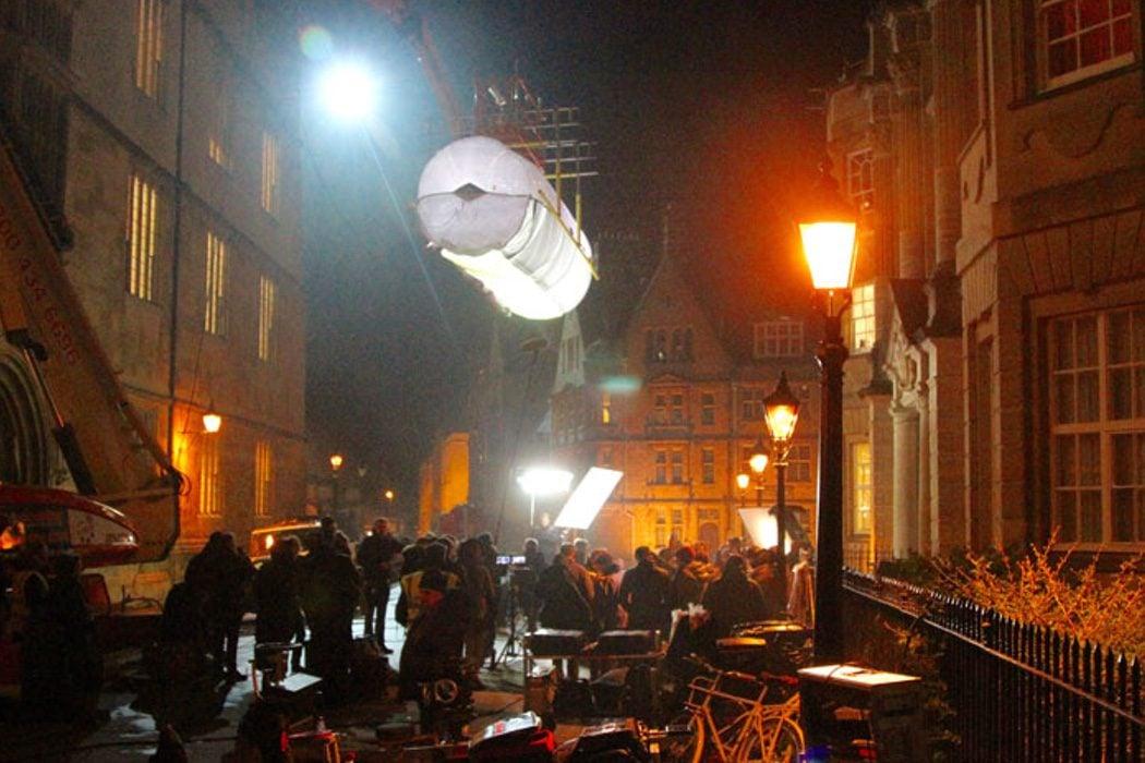Rodaje de 'La momia' en Oxford