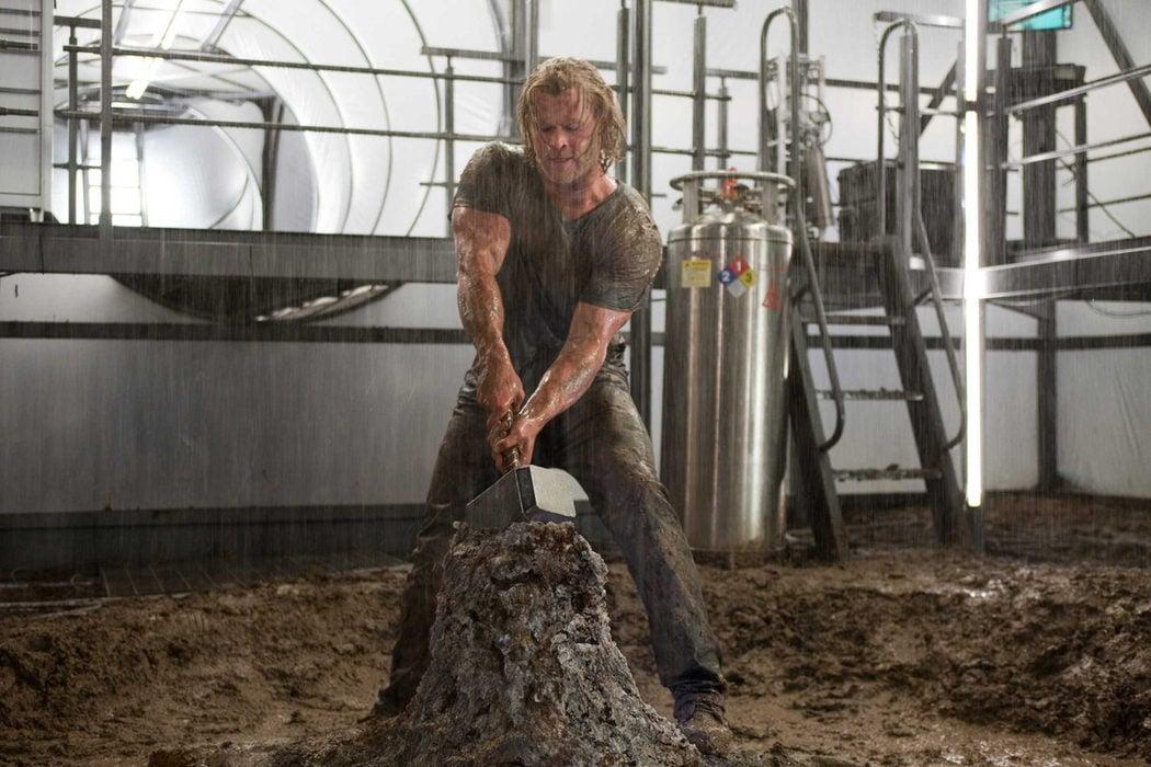 Trabajó duro para ser Thor
