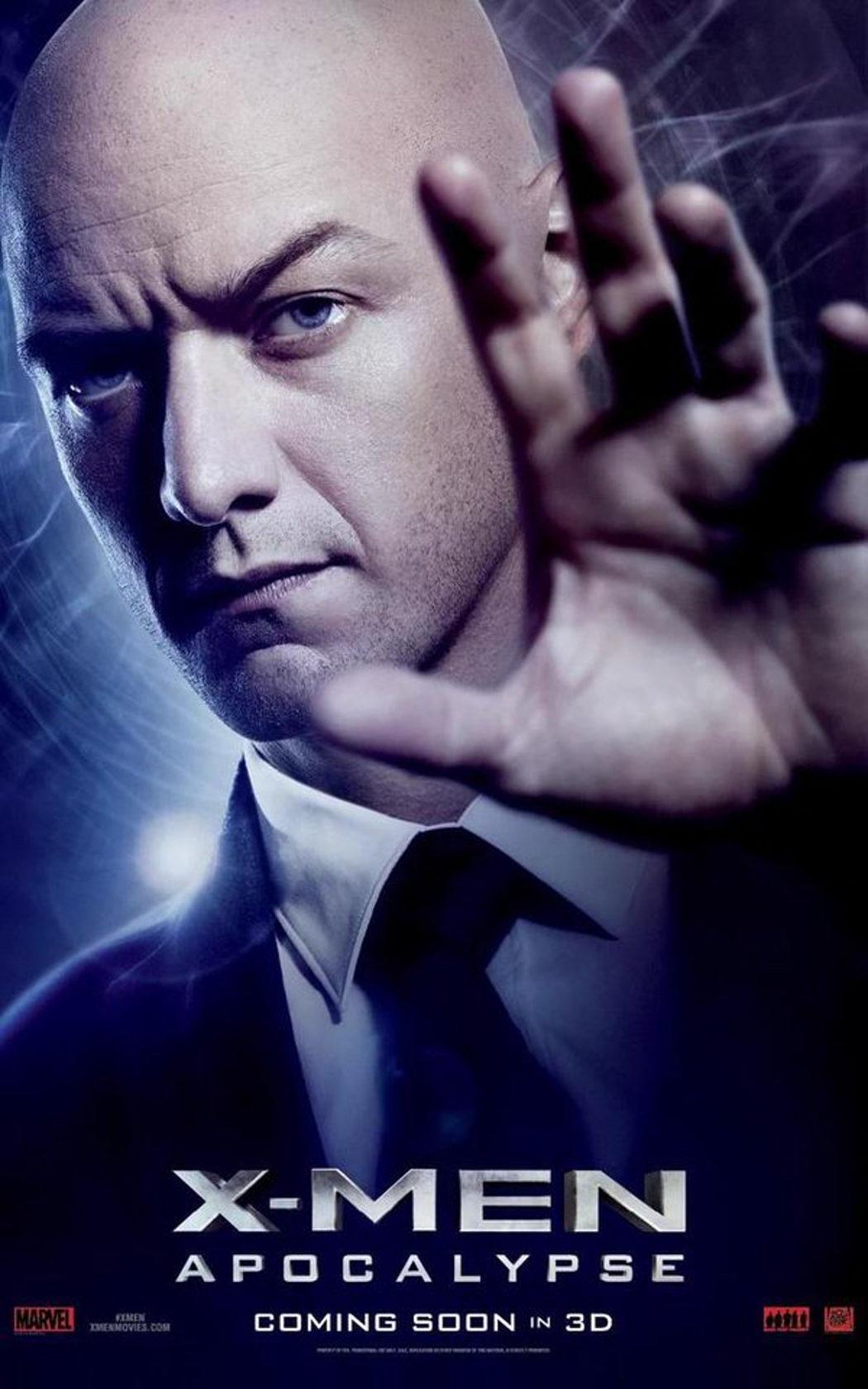 James McAvoy interpreta a Charles Xavier
