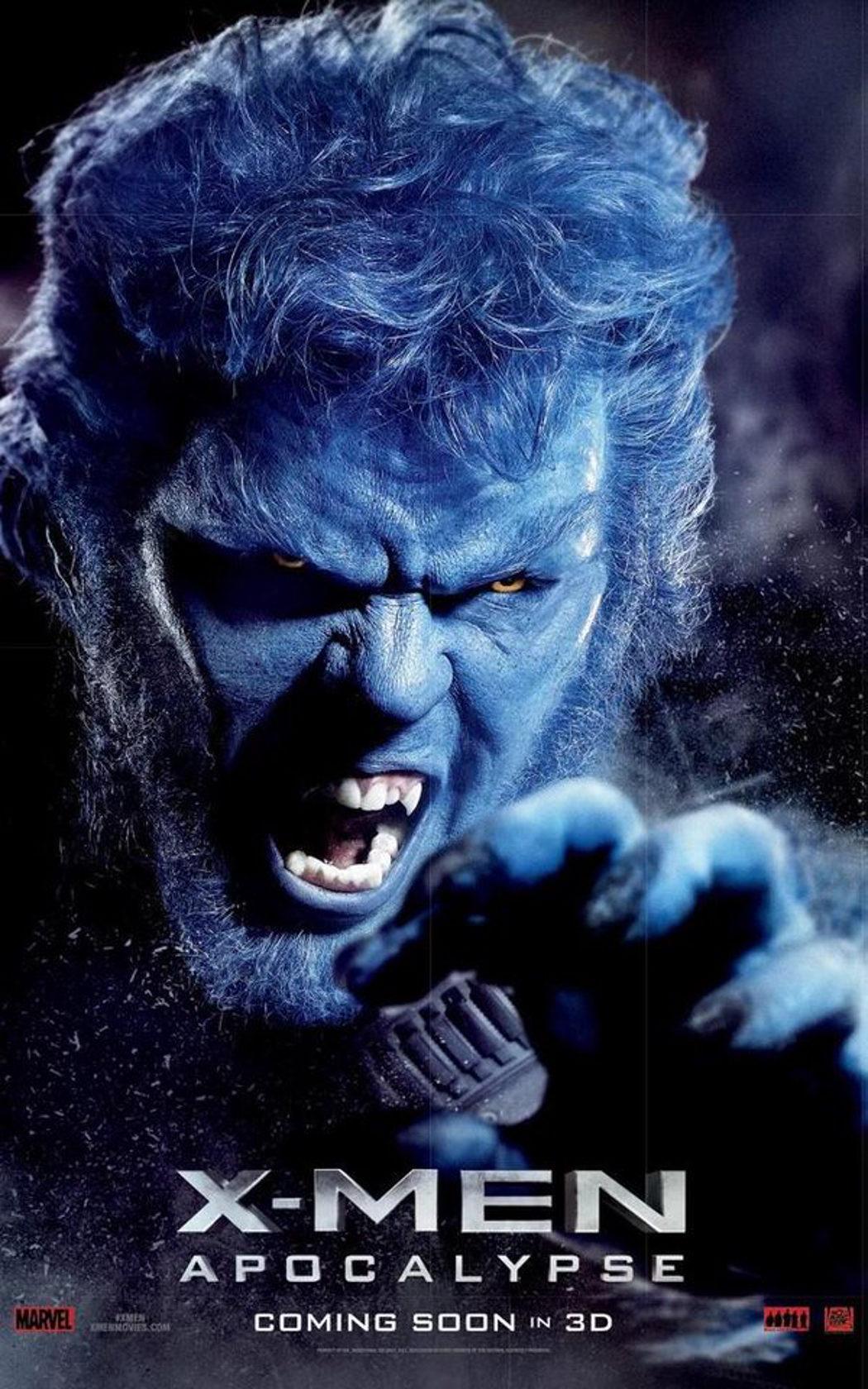 Nicholas Hoult como Bestia