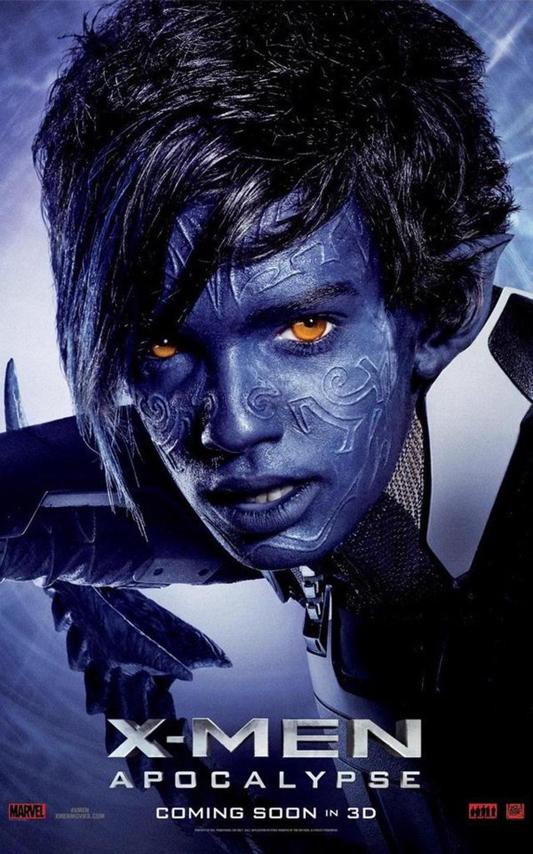 Kodi Smit-McPhee es Nightcrawler