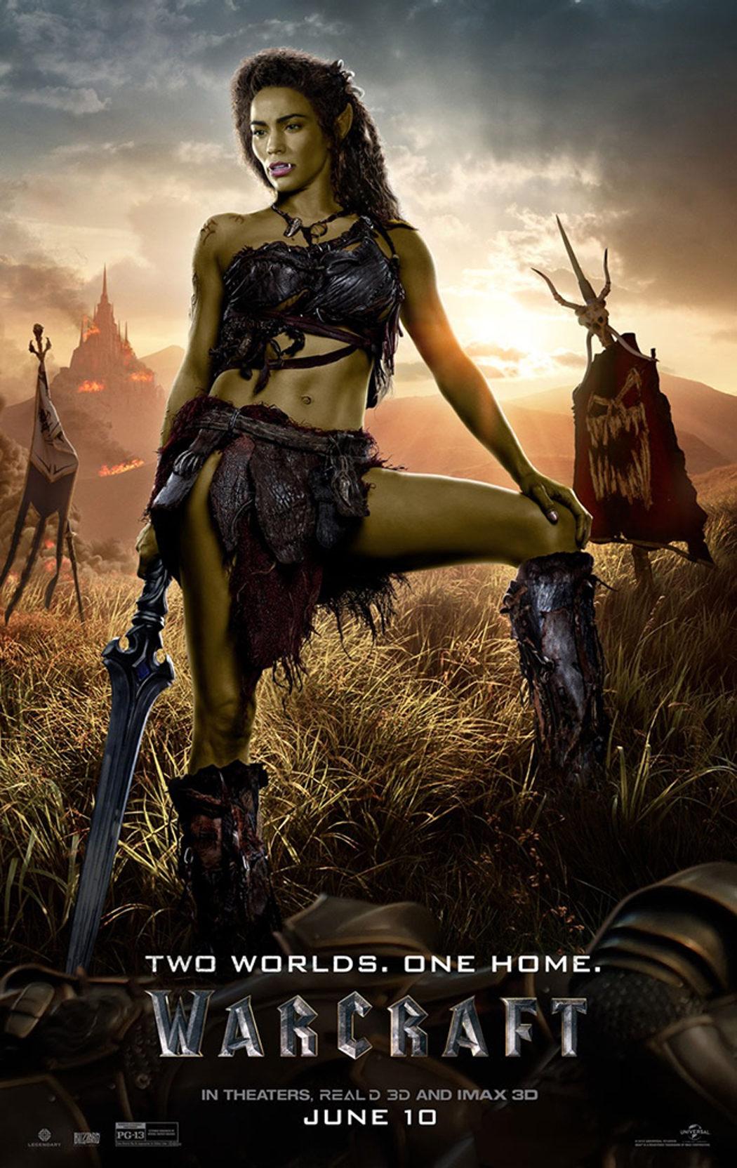 Paula Patton interpreta a Garona