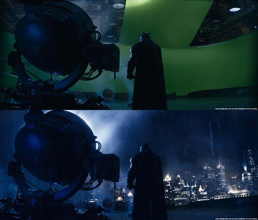 La marca de Batman en 'Batman v Superman' en chroma