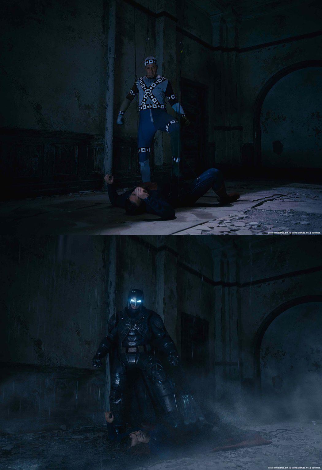 El traje de Batman en 'Batman v Superman' antes de los VFX