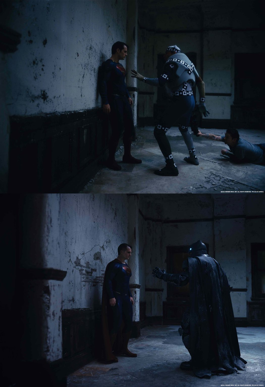 Efectos especiales en la pelea de 'Batman v Superman'