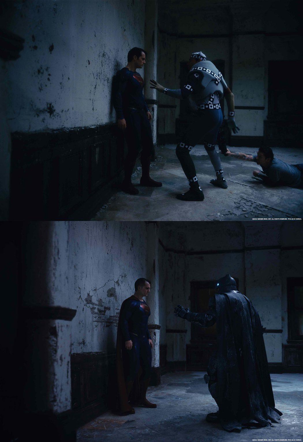 Efectos especiales en la pelea de 'Batman v Superman'