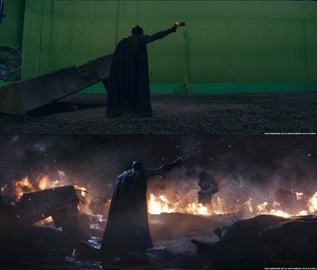 La pelea de Batman y Doomsday en 'Batman v Superman' con VFX