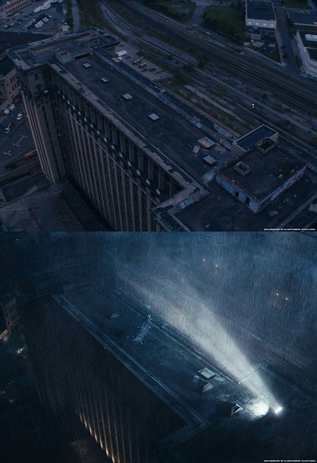 Los efectos especiales en el escenario de 'Batman v Superman'