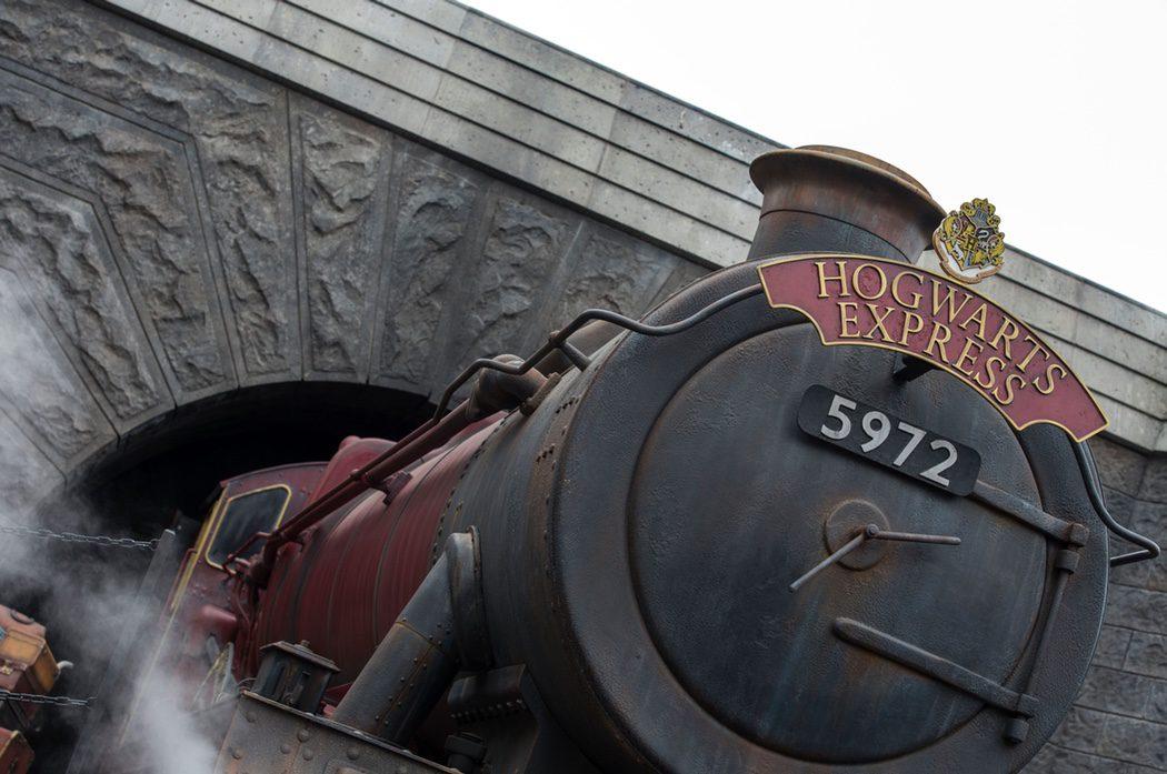El famoso Hogwarts Express de 'Harry Potter'
