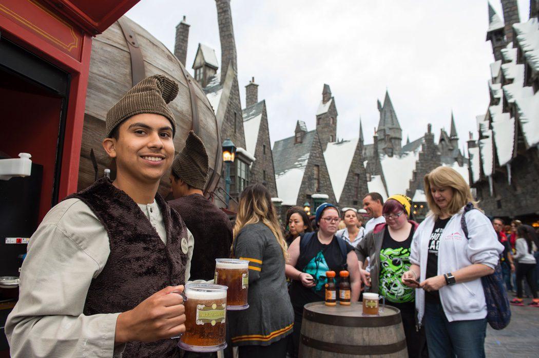 La famosa cerveza del pub 'Cabeza de Puerco' de 'Harry Potter'