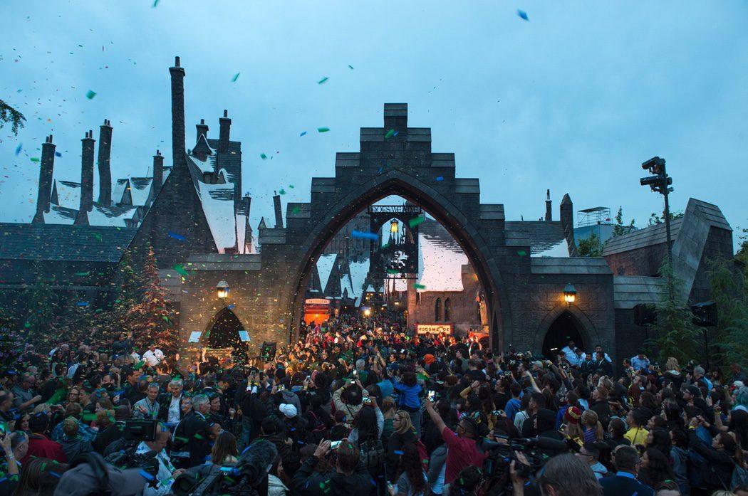 Inauguración del parque temático de 'Harry Potter' en Hollywood