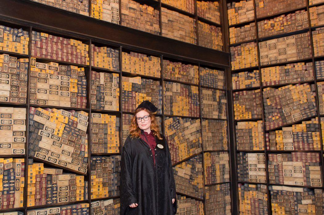 La tienda de varitas de 'Harry Potter' desde dentro