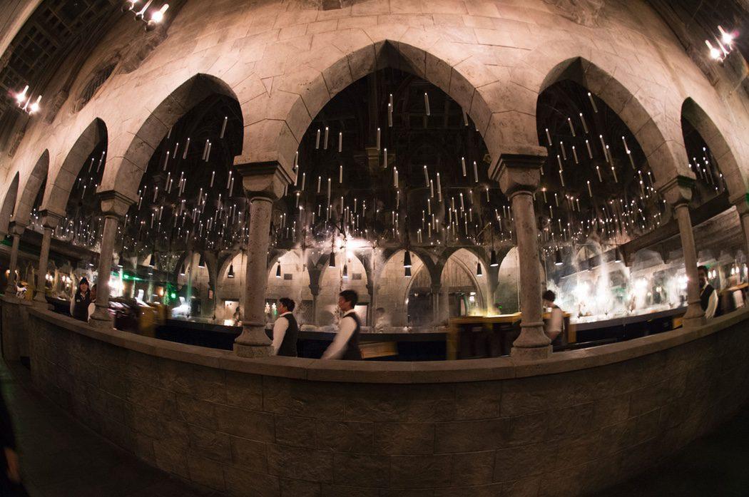 El gran salón de Hogwarts de 'Harry Potter' en Hollywood