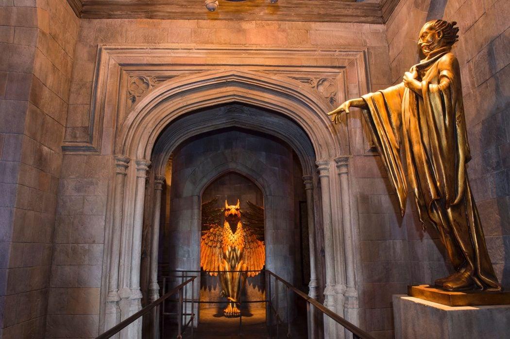 Salón del castillo de Hogwarts de 'Harry Potter' en Hollywood