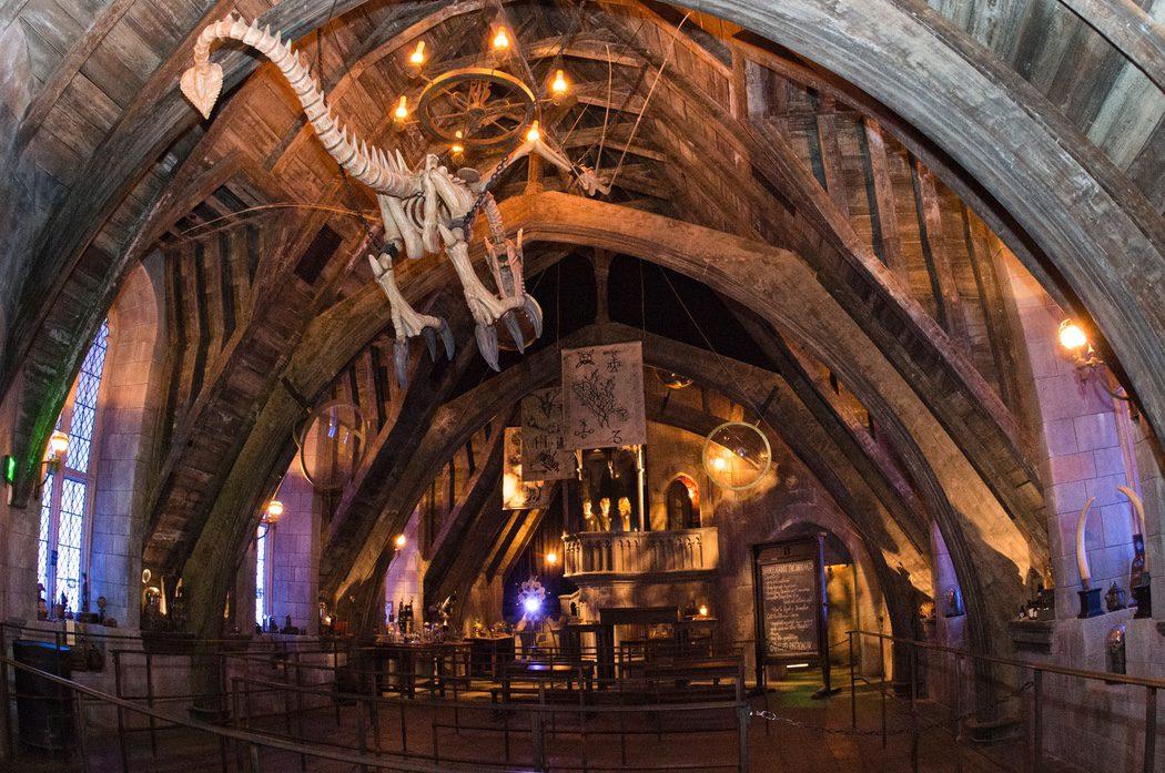 Interior de Hogwarts de 'Harry Potter' en Hollywood