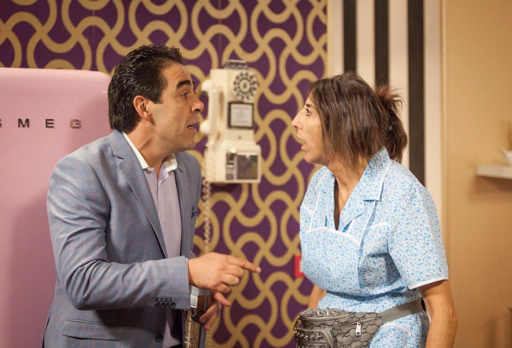 ¿Surgirá el amor entre Amador y Chusa?