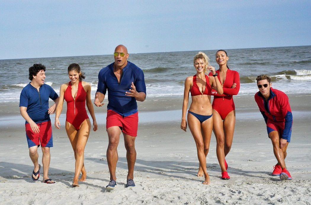 El reparto del reboot de 'Los vigilantes de la playa'